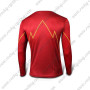 2015 The Flash Outdoor Sport Wear Long Sleeves Bicycle T-shirt