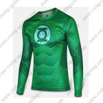 2015 The Green Lantern Corps Outdoor Sport Long Sleeves Cycling T-shirt