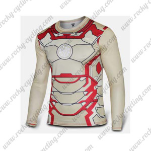 2015 The IRON MAN Outdoor Sport Long Sleeves Cycle T-shirt