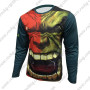 2015 The Incredible Hulk Outdoor Sport Apparel Long Sleeves Cycling T-shirt