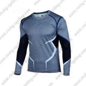 2015 The Quick Silver Long Sleeves Cycling T-shirt