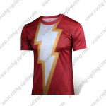 2015 The Shazam Captain Marvel Cycling T-shirt