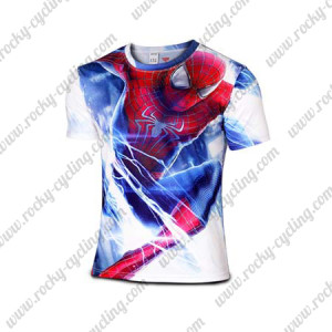 2015 The Spiderman Outdoor Sport Cycling Wear T-shirt