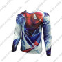 2015 The Spiderman Outdoor Sport Long Sleeves Cycling Wear T-shirt