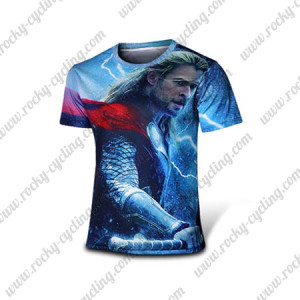 2015 The THOR GOD OF THUNDER Cycling T-shirt