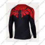 2015 The Ultimate Spiderman Outdoor Sport Long Sleeves Bicycle T-shirt