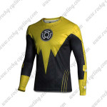 2015 The Yellow Lantern Corps Long Sleeves Cycling T-shirt