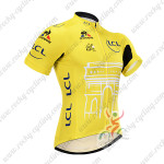 2015 Tour de France Cycling Jersey Shirt Ropa Ciclismo Yellow