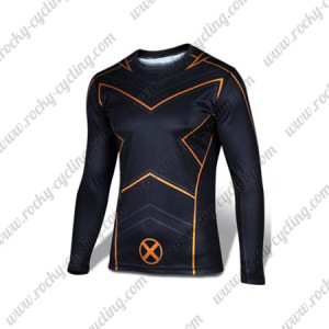 2015 X-Men Outdoor Sport Long Sleeves Cycling T-shirt