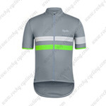 2015 Team Rapha Cycling Jersey Grey White Green