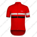 2015 Team Rapha Cycling Jersey Red White Black