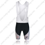 2015 Team SKY Rapha Riding Bib Shorts White Black Blue