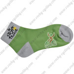 2015 Tour de France Outdoor Sport Cycling Socks Green
