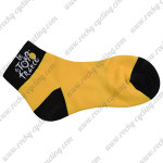 2015 Tour de France Outdoor Sport Cycling Socks Yellow