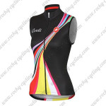 2015 Team Castelli Womens' Cycling Sleeveless Jersey Vest