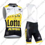 2015 Team LOTTO JUMBO Racing Sleeveless Bib Kit Yellow Black