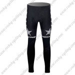 2015 Team ROCK RACING Bicycle Long Pants Tights Black