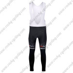 2015 Team ROCK RACING Biking Long Bib Pants Black Red