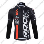 2015 Team ROCK RACING Riding Long Jersey Black Red