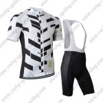 2015 Team Rapha Cycling Bib Kit White