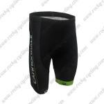 2016 Team Cannondale Cycling Shorts Black Green
