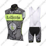 2016 Team Tinkoff SAXO BANK Cycling Sleeveless Bib Kit Black Green