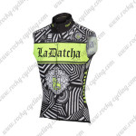 2016 Team Tinkoff SAXO BANK Cycling Sleeveless Jersey Black Green