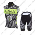 2016 Team Tinkoff SAXO BANK Cycling Sleeveless Kit Black Green
