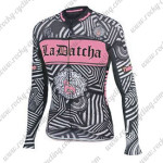 2016 Team Tinkoff SAXO BANK Womens Bicycle Long Jersey Black Pink