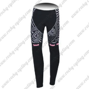2016 Team Tinkoff SAXO BANK Womens Bicycle Pants Black Pink