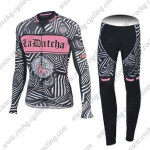 2016 Team Tinkoff SAXO BANK Womens Cycle Long Suit Black Pink