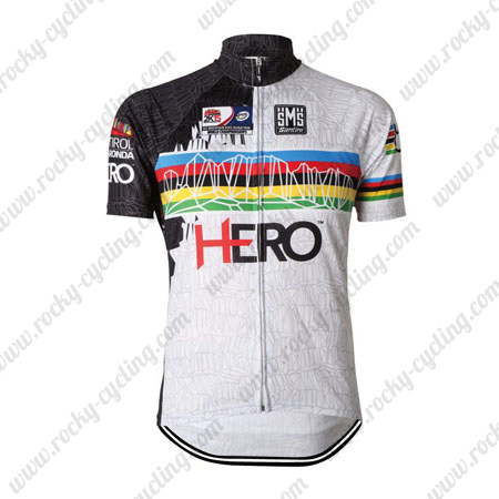 2015 Team Santini HERO UCI Champion Cycle Wear Riding Jersey Tops ... 502e53846