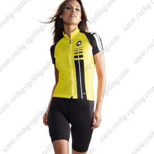2015 Team ASSOS Cycling Kit For Lady Yellow