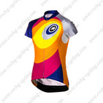 2015 Team ASSOS Women's Cycling Jersey Blue Red Yellow