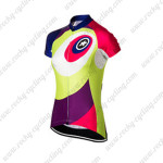 2015 Team ASSOS Women's Cycling Jersey Red Purple Green
