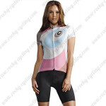 2015 Team ASSOS Women's Cycling Kit White Pink