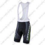 2015 Team Cannondale 71 Cycle Bib Shorts Bottoms Black Green