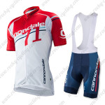 2015 Team Cannondale 71 Racing Bib Kit Red White