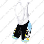 2015 Team Vanderkitten Women's Cycle Bib Shorts Black Blue