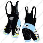2015 Team Vanderkitten Women's Riding Bib Shorts Black Blue