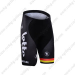 2016 Team LOTTO SOUDAL Bicycle Shorts Red