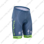 2016 Team Tinkoff Sportful Bicycle Shorts Blue Green