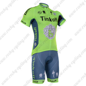 2016 Team Tinkoff Sportful Cycling Kit Green
