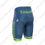 2016 Team Tinkoff Sportful Riding Shorts Blue Green