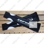 2010 Team Cervelo Cycling Arm Sleeves Warmers Black