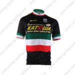 2010 Team KATUSHA Cycling Jersey Black Green Red