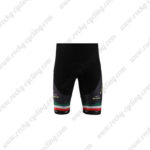 2010 Team KATUSHA Cycling Shorts Black Green Red