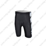 2010 Team TREK Cycling Shorts White Black