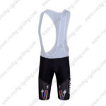 2011 Team QUICK STEP Cycle Bib Shorts Red Yellow