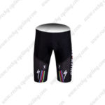 2011 Team QUICK STEP Cycle Shorts Red Yellow